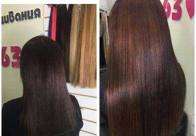 Наращивание волос в Самаре 0105