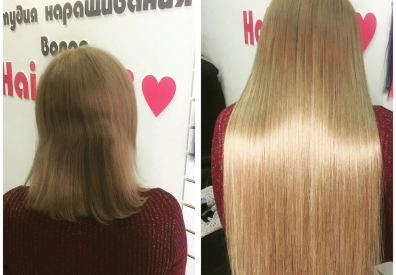 Наращивание волос в Самаре 0107
