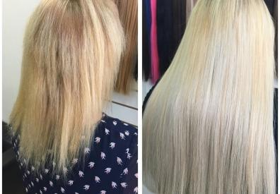 Наращивание волос в Самаре 0106