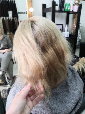 Наращивание волос Самара 0014
