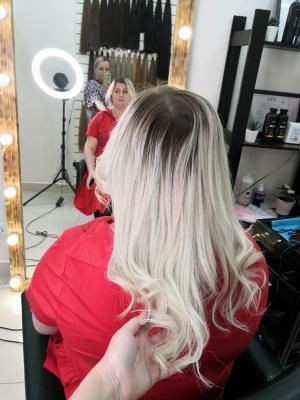 Наращивание волос Самара 0019