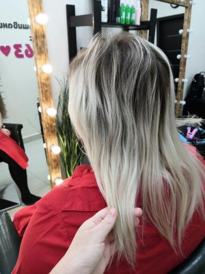 Наращивание волос Самара 0020