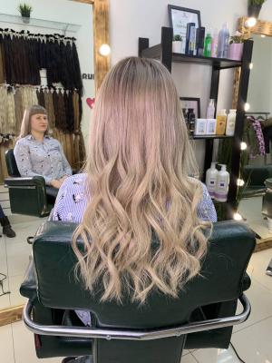 Наращивание волос Самара 0005