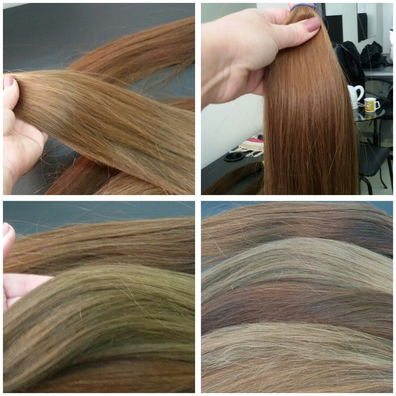 Волосы для наращивания 01